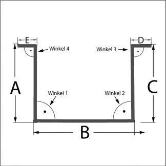 Blechshop, Hut-Profil