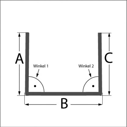 BLECH-X-PRESS, U-Profil